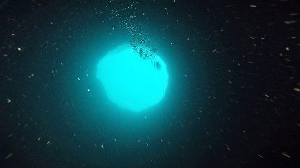 Misterioso agujero azul de 130 metros de profundidad cerca de Florida es explorado por científicos