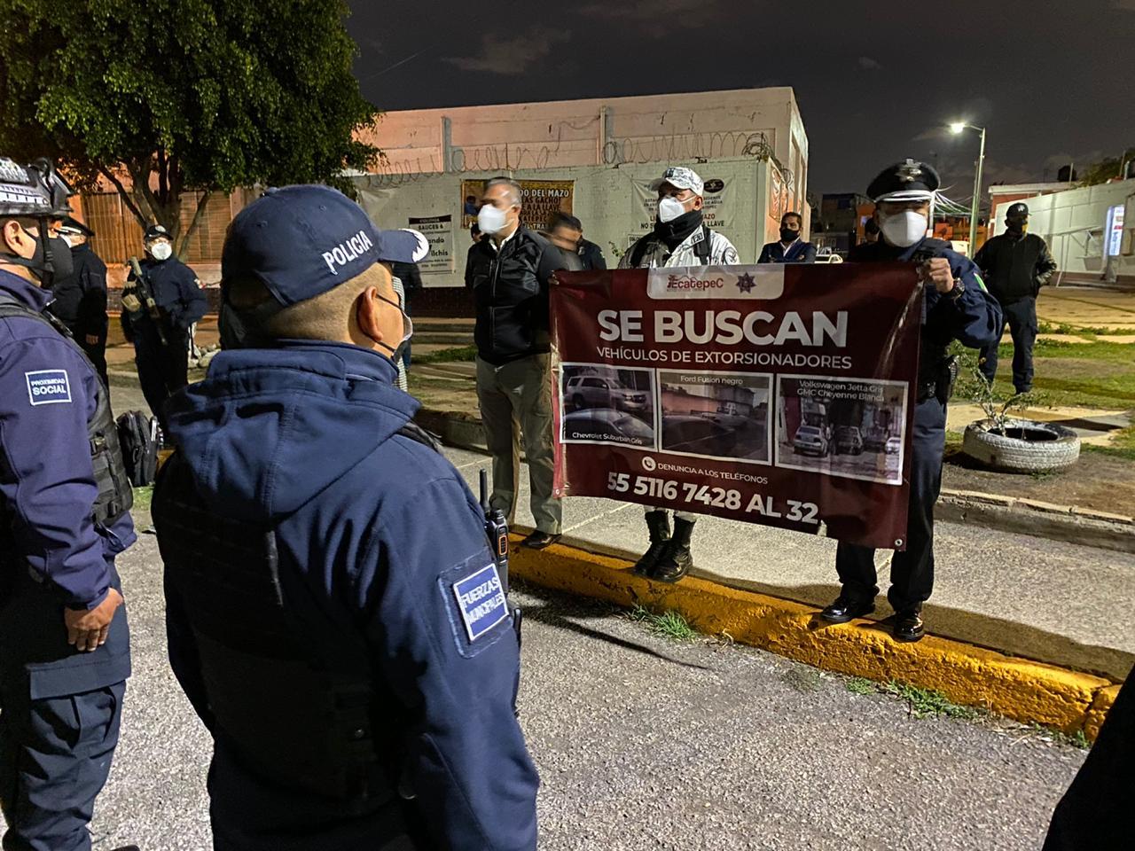 Alcalde de Ecatepec ofrece hasta 50 mil pesos de recompensa por la detención de presuntos policías extorsionadores; los recursos saldrán de su sueldo