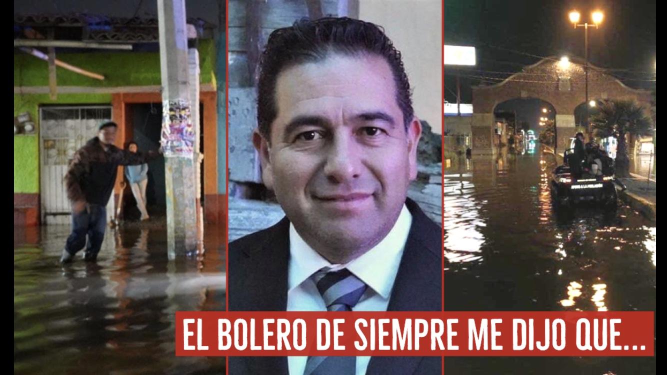 El bolero de siempre me dijo que... César Serrano con el agua hasta el cuello