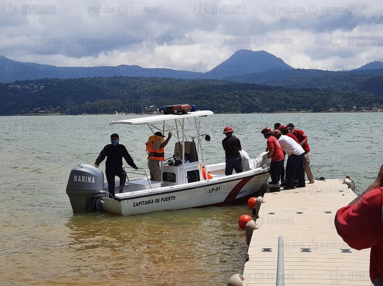 Rescatan cuerpo de una mujer sin vida en presa de Valle de Bravo; su pareja es detenido