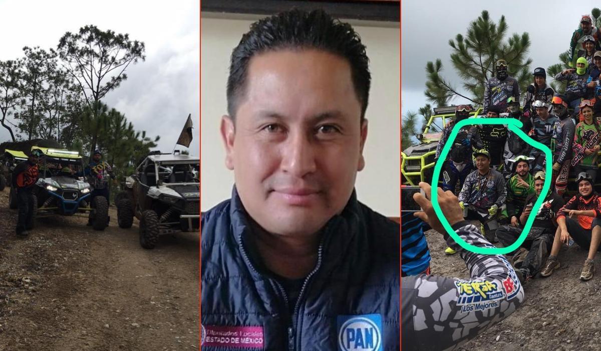 Se pasea Diputado Javier González, en vehículos todo terreno en plena pandemia