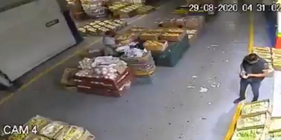 #Video ejecutan a una persona en la Central de abasto