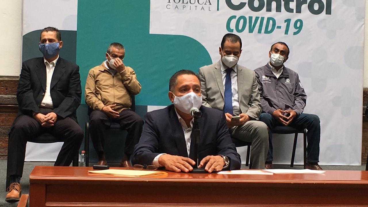 Mueren 40 personas cada 7 días por Covid19 en Toluca