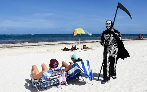 """La """"muerte"""" sorprendió a Turistas en Puerto Morelos"""