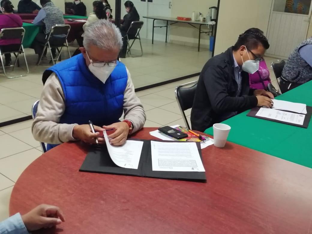 UAEM firmó convenio de colaboración con Ayuntamiento de Ecatzingo