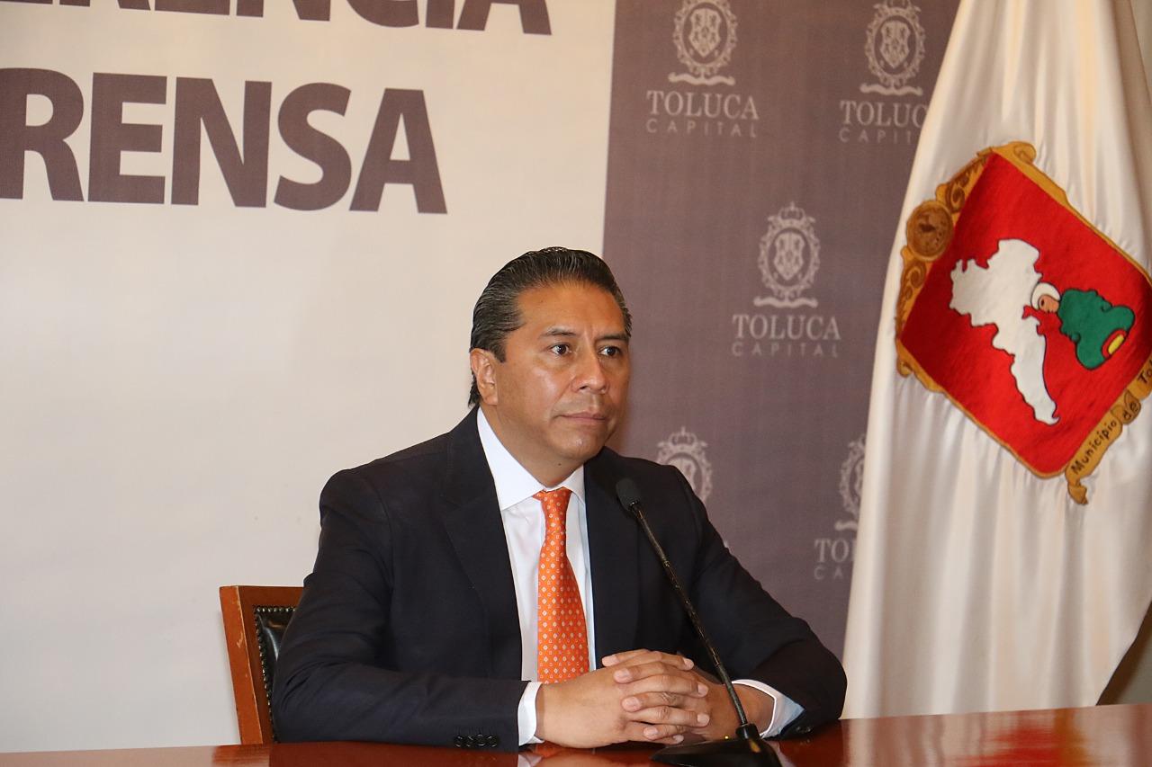 Propondrá Juan Rodolfo a Carlos Sánchez Sánchez como Secretario del Ayuntamiento de Toluca