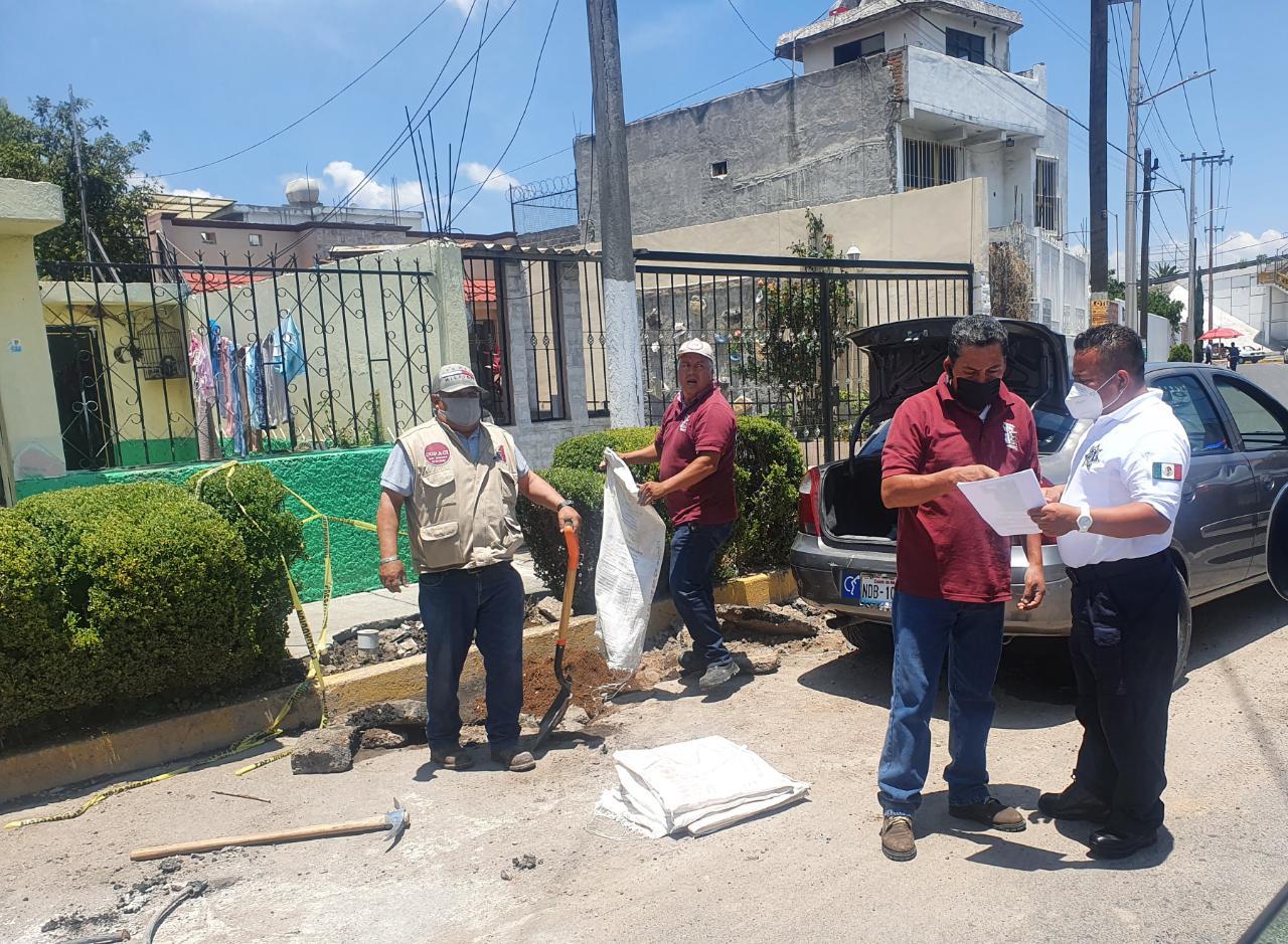 Localiza Policía de Ecatepec a joven con discapacidad extraviado y lo reintegra a su familia