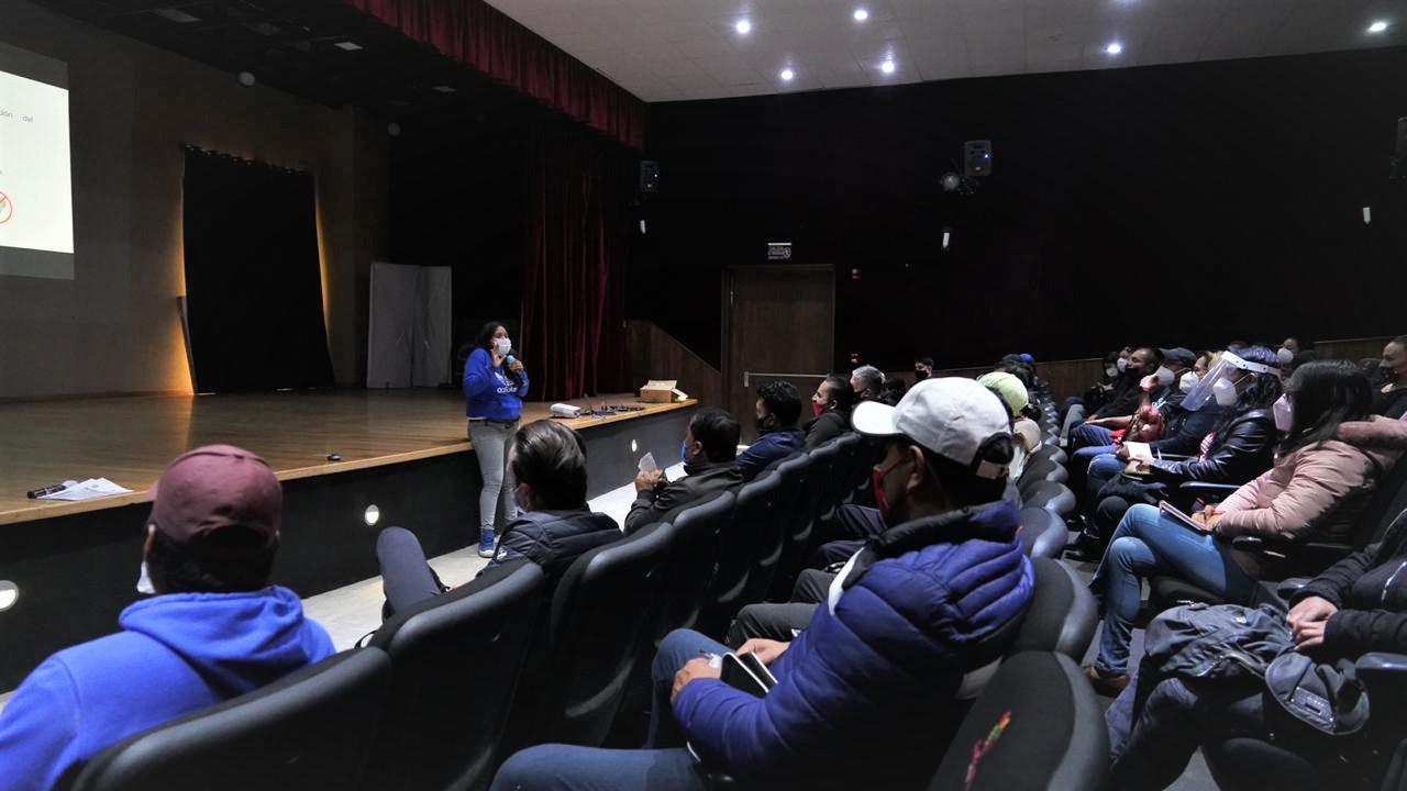 Otorgan capacitación sanitaria a administradores de gimnasios en San Mateo Atenco