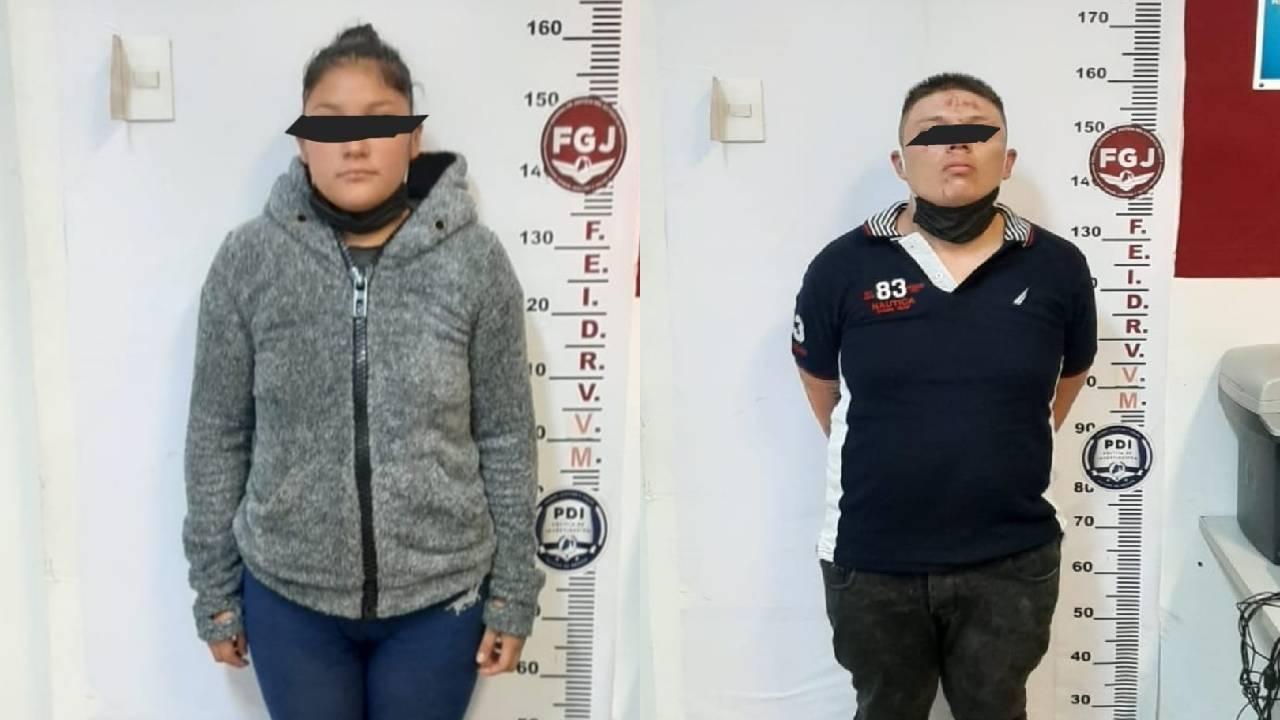 Policía de Ecatepec detiene a banda dedicada al robo de vehículos tras persecución de 7 kilómetros