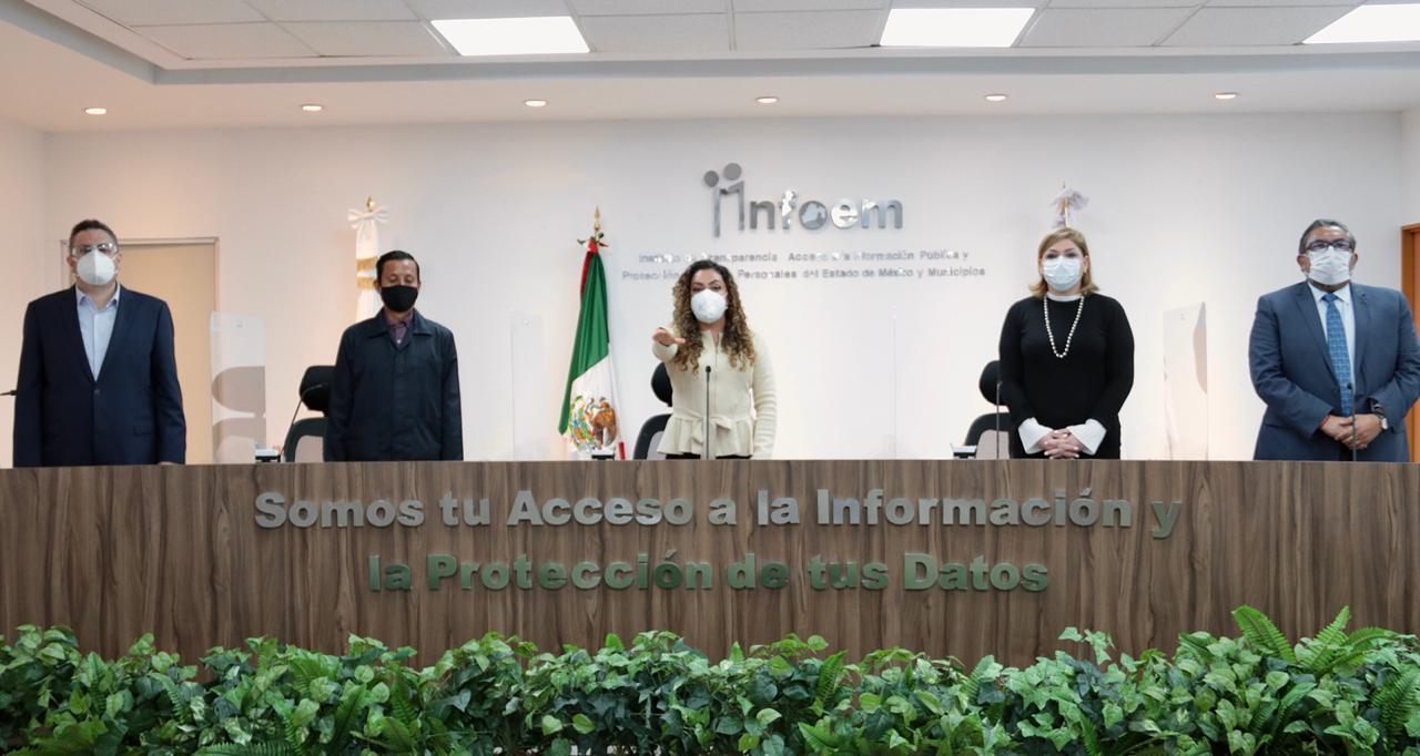 Pleno del Infoem designó a Zulema Martínez Sánchez como Comisionada Presidenta