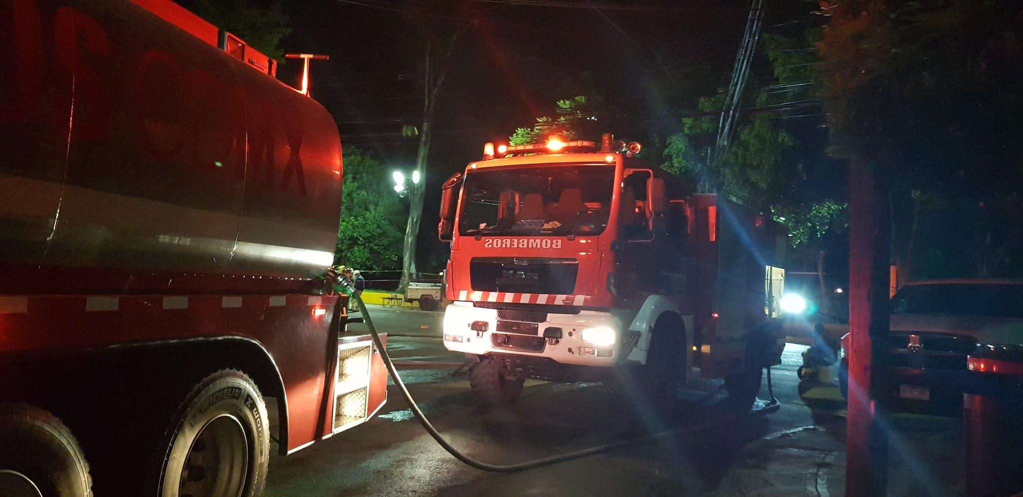 Fuga de combustible pone en alerta a los vecinos de Polanco