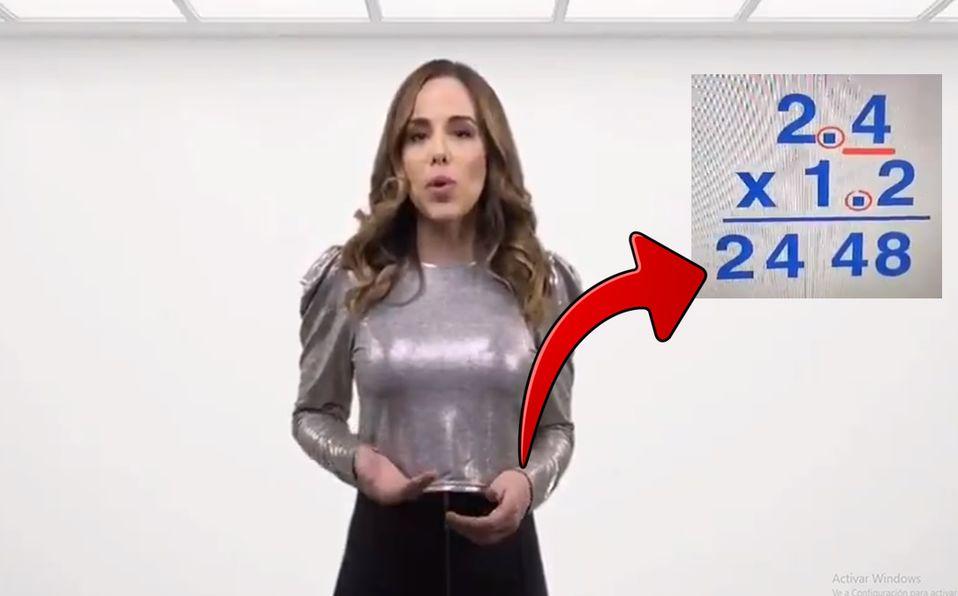#FakeNews Video de #LadyMatematicas es falso; fue editado y no perece a la SEP