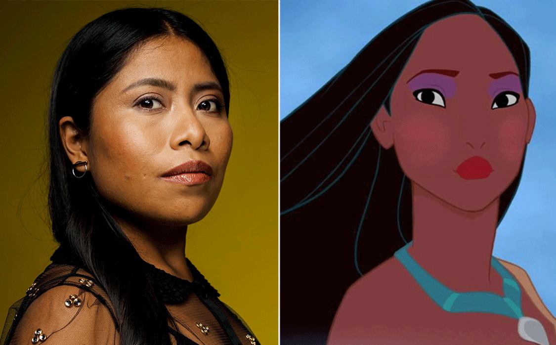 """¿Yalitza Aparicio será """"Pocahontas"""" de Disney? Aquí la verdad"""