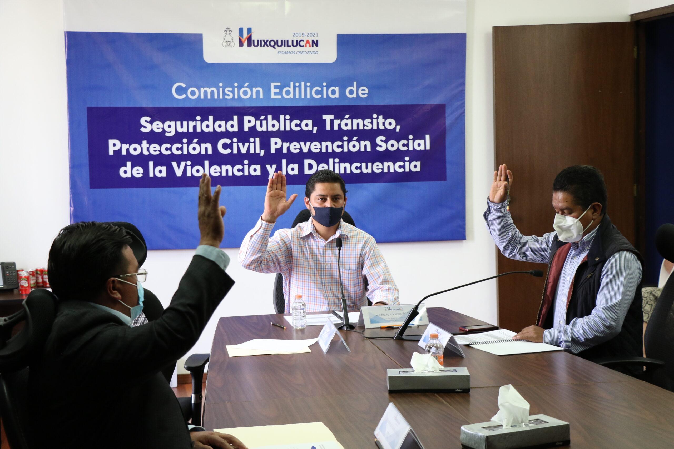Trabajo de seguridad pública de Huixquilucan permitió reducir ritmo de contagios por coronavirus