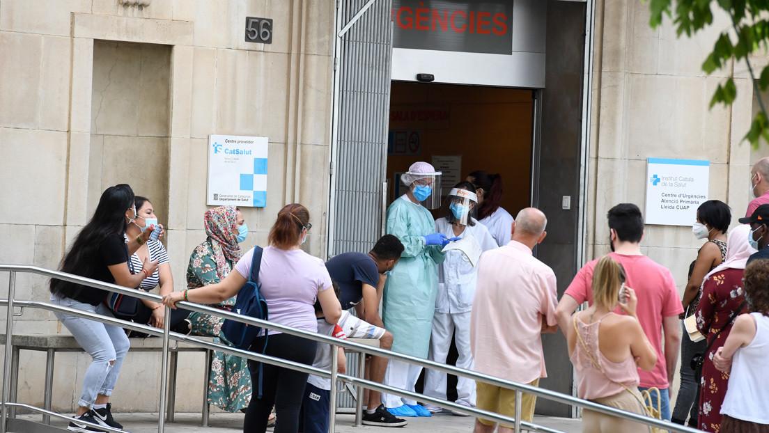 """España vive ya la """"segunda ola"""" del coronavirus"""