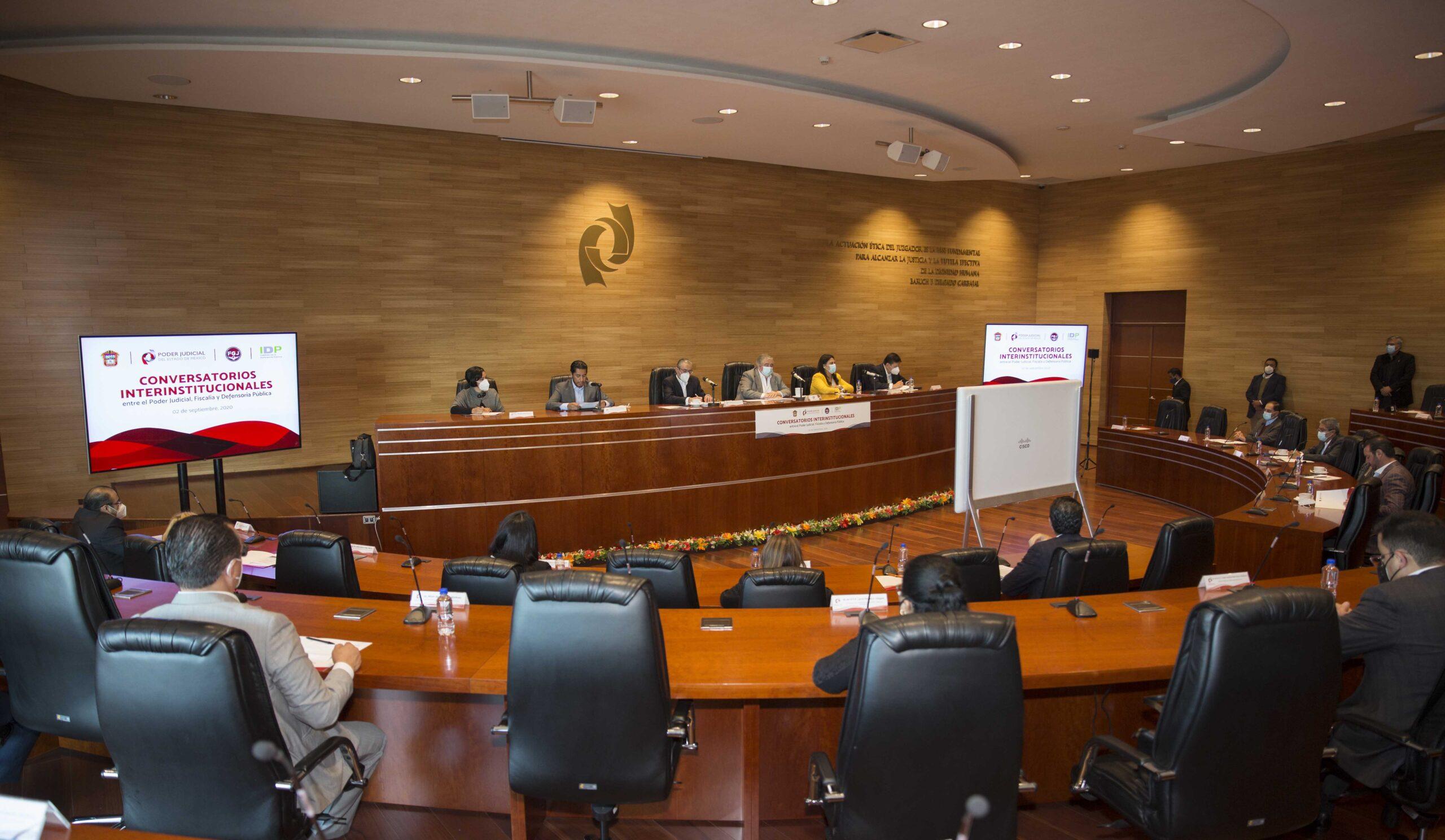 PJEDOMEX inicia conversatorioscon Fiscalía de Justicia y Defensoría