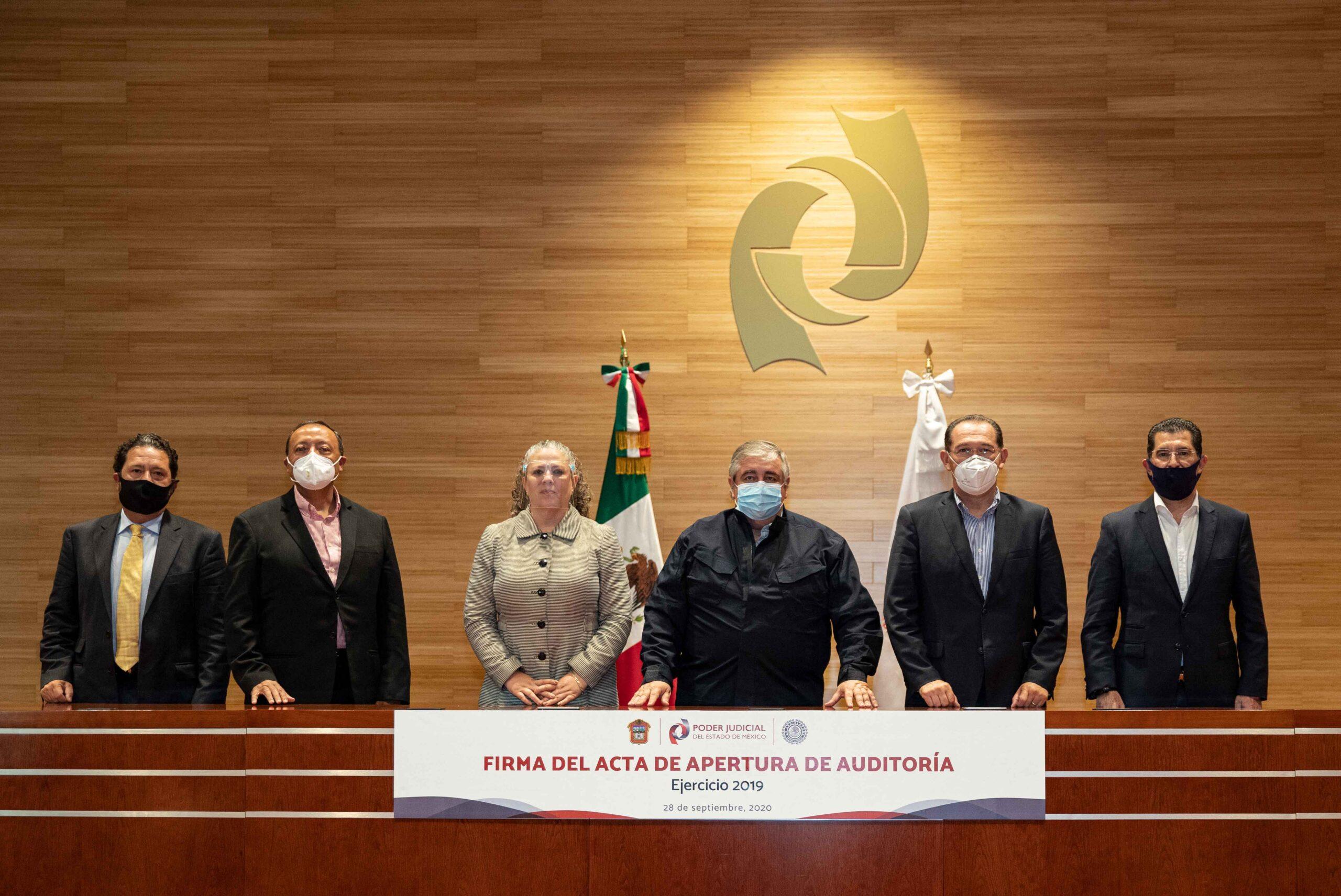 Osfem comienza auditoría al Poder Judicial