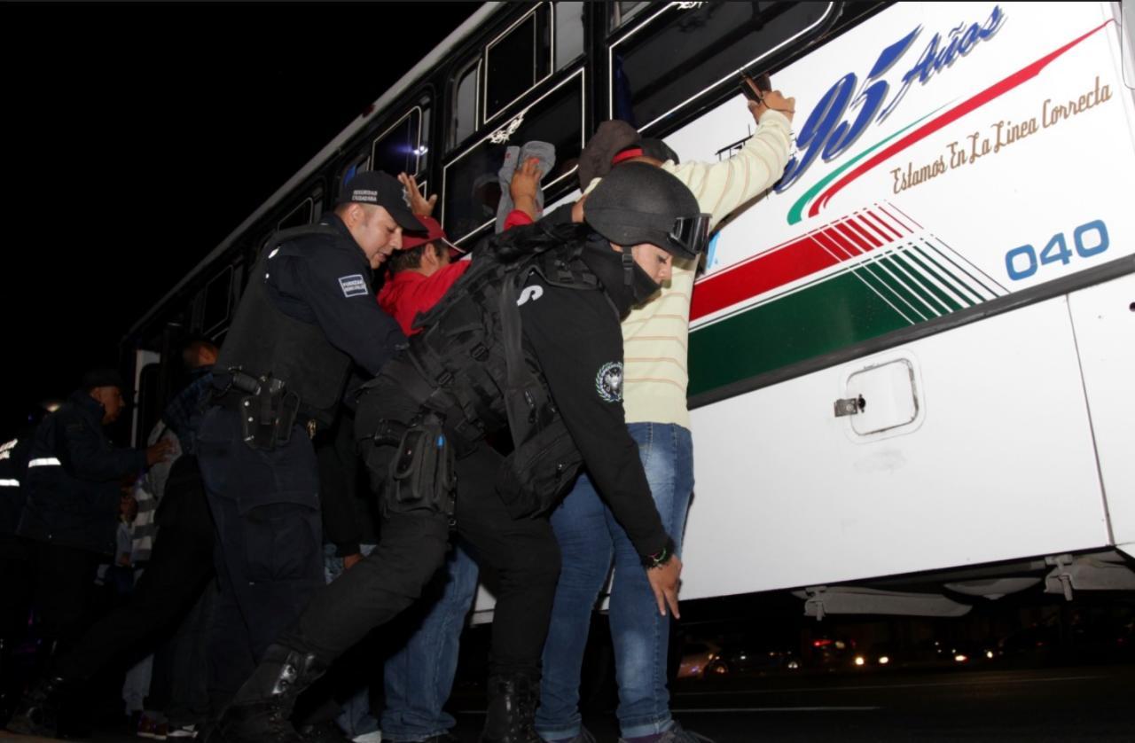 Ecatepec logra reducir 63% el robo a transporte público con violencia en lo que va del 2020