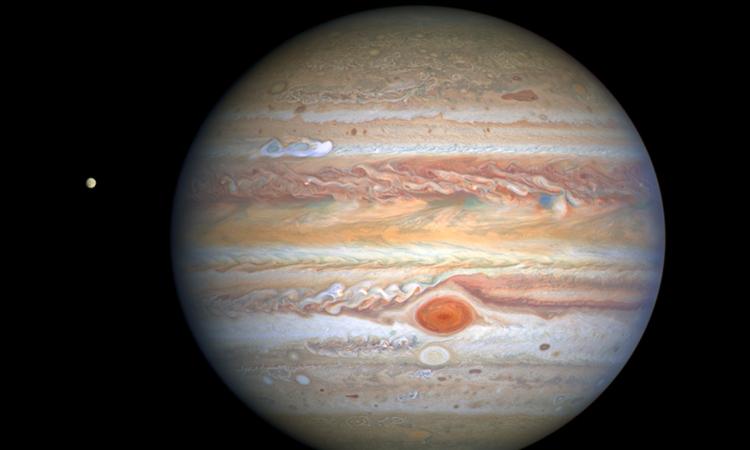 VIDEO: El Hubble captura la imagen más nítida de Júpiter de la historia