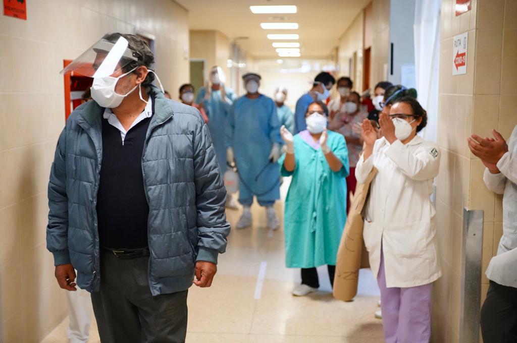 Supera IMSS poniente tres mil pacientes recuperados por covid-19