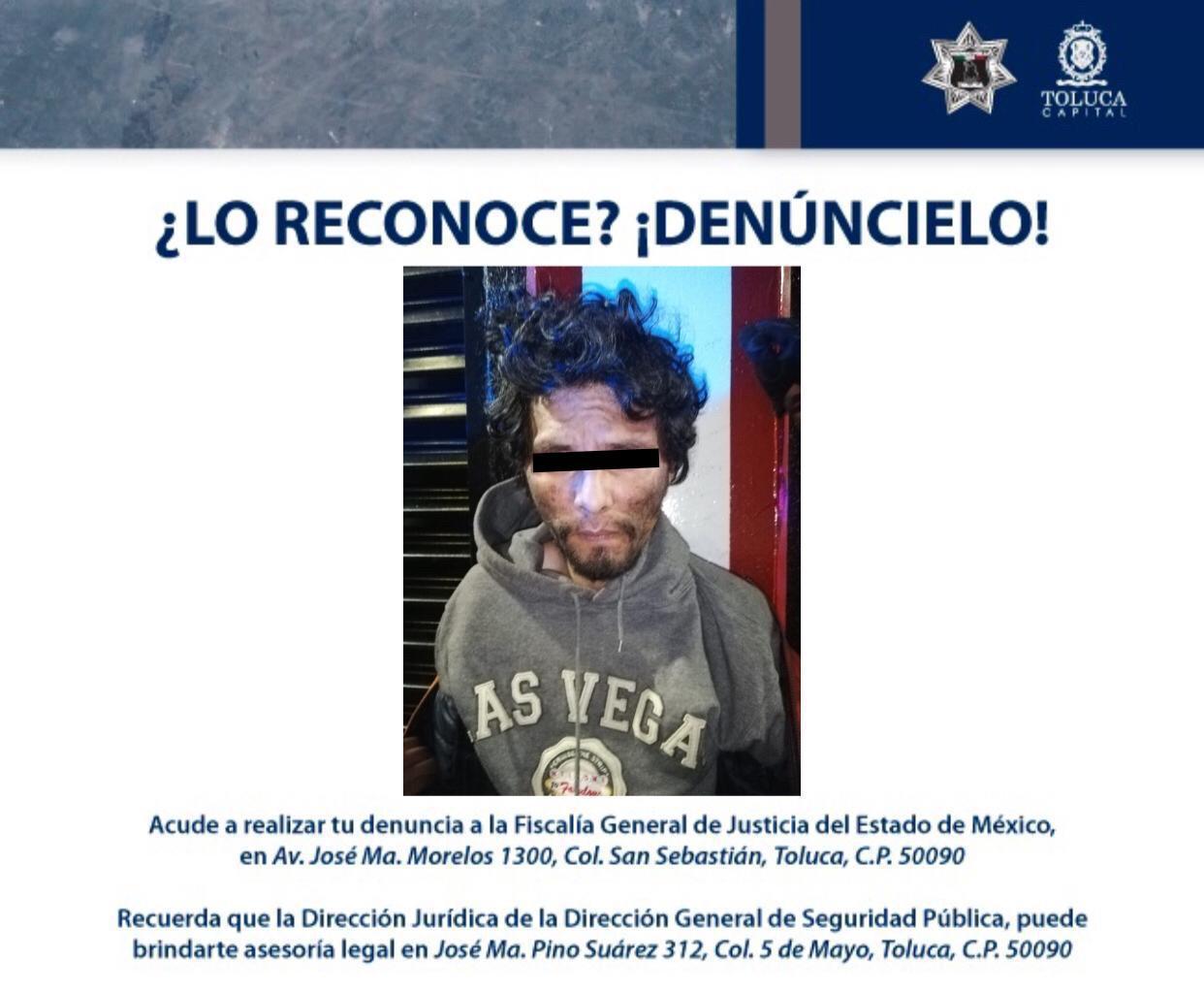 Policía de Toluca asegura en menos de ocho días a los mismos presuntos delincuentes dedicados a robo de autopartes