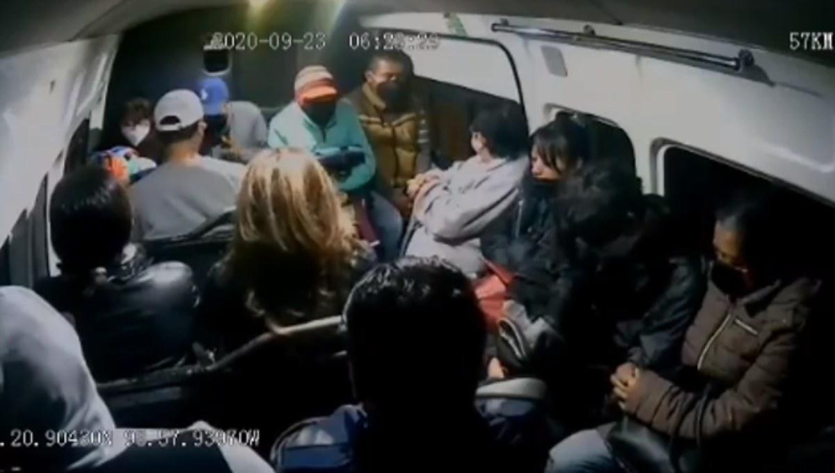 """#Video """"Que la Santa Muerte te lo multiplique"""": victima a asaltantes en el Edomex"""