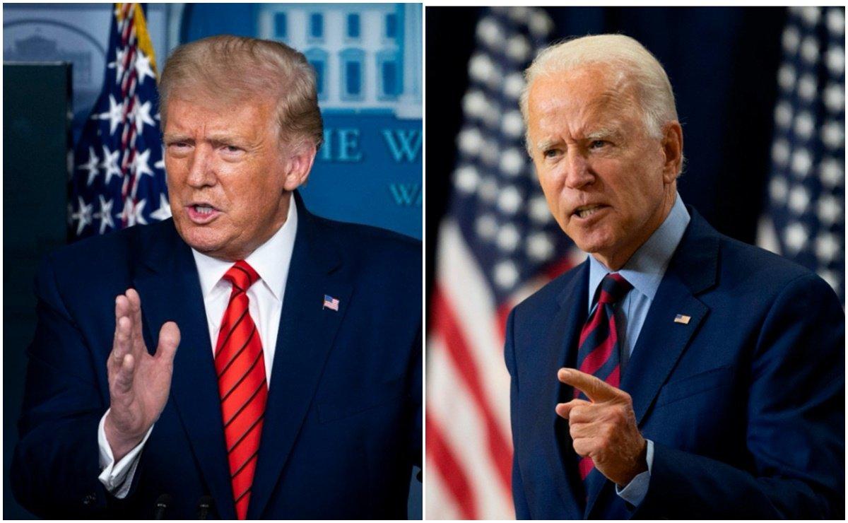 """""""Payaso""""; """"No hay nada inteligente en ti'': Trump VS Biden"""