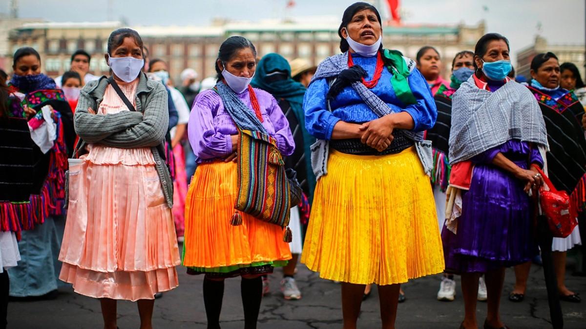 Garantizar y visibilizar la participación política en sus comunidades, exigencia de las mujeres indígenas