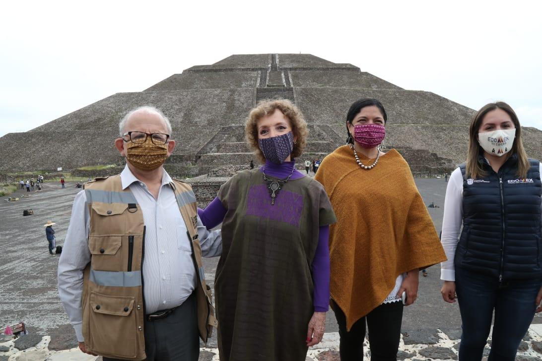 Reabren Zona Arqueológica de Teotihuacán para reactivar actividad económica con el turismo