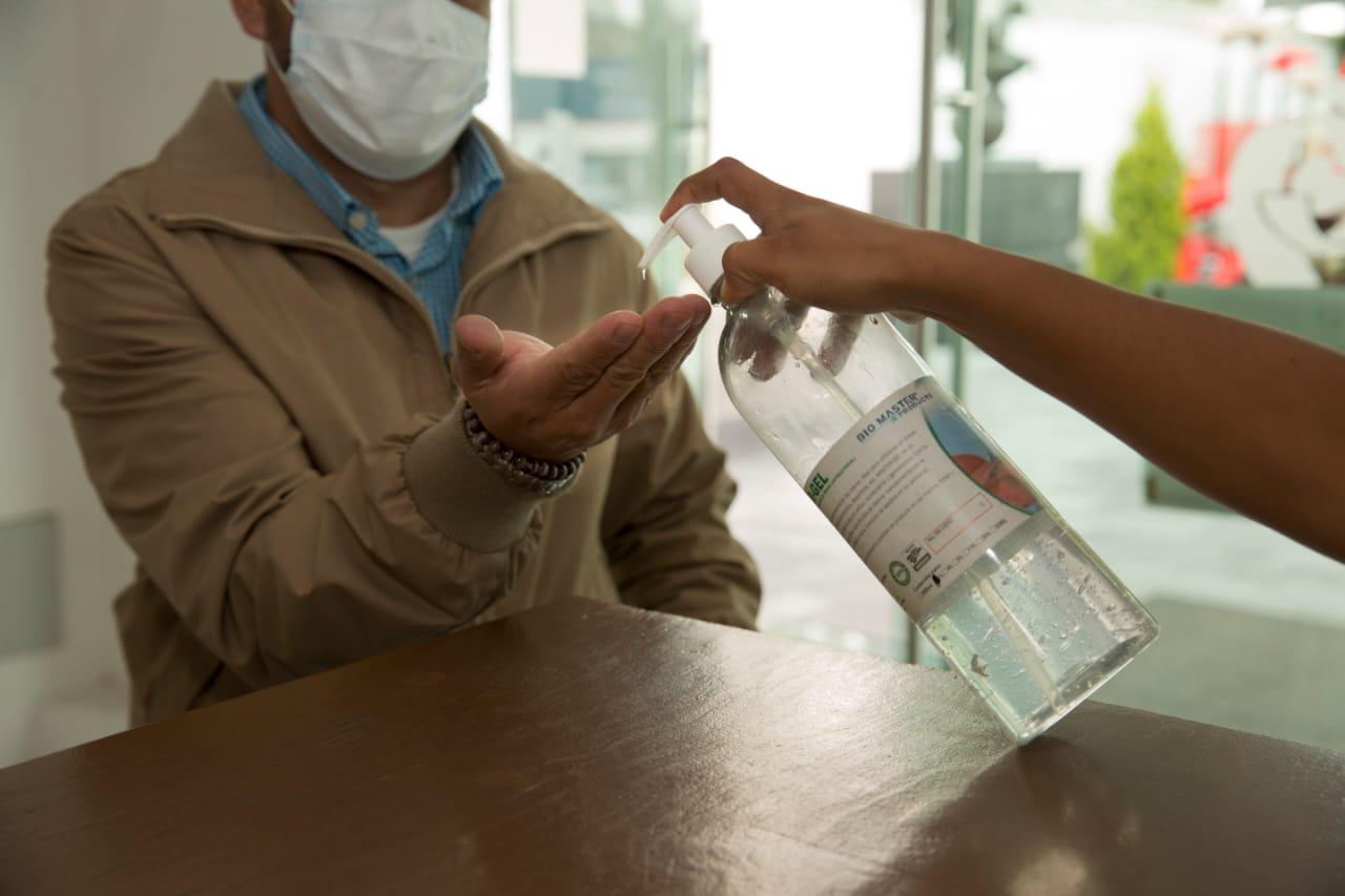 Pjedomex invierte más de 15 millones de pesos en prevención de contagios