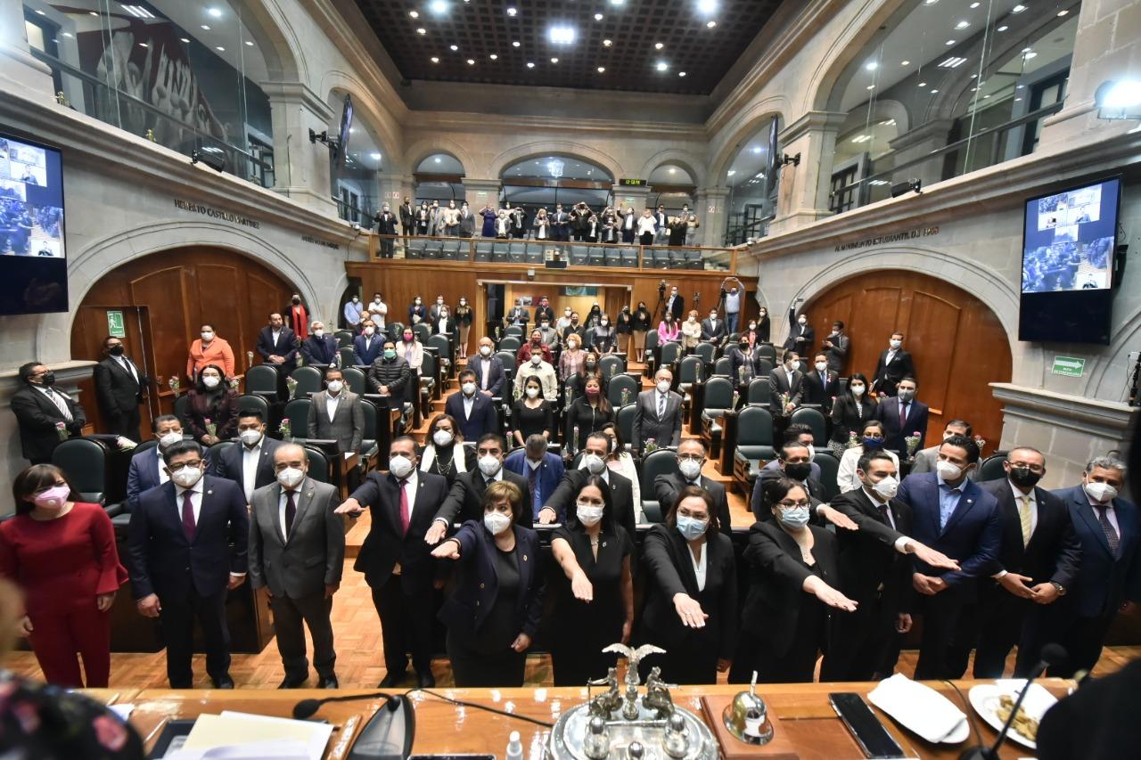 Rinde protesta magistrados y magistradas del Pjedomex