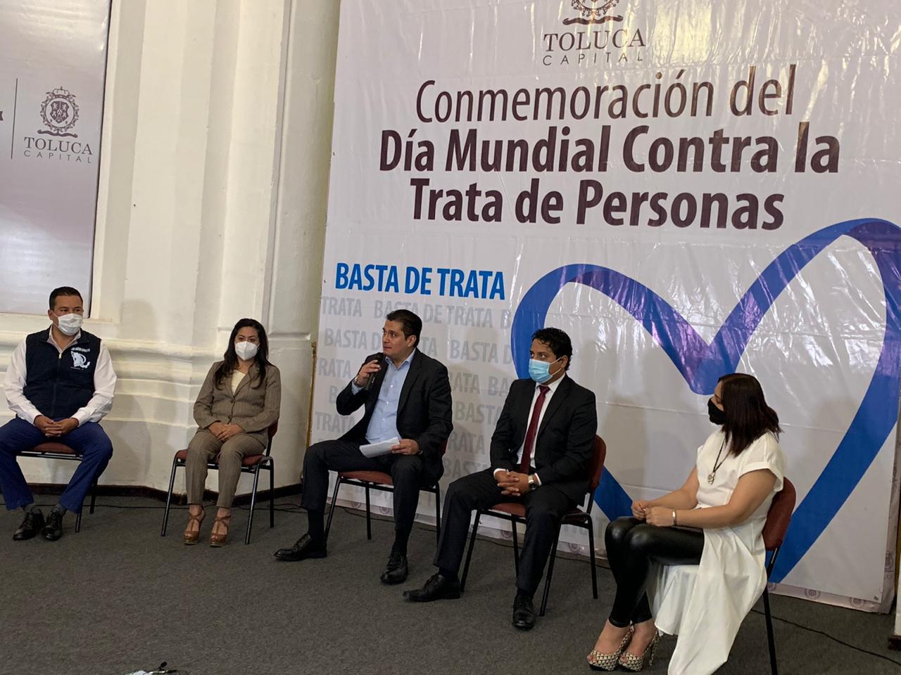 Continúa Toluca el combate de la trata de personas