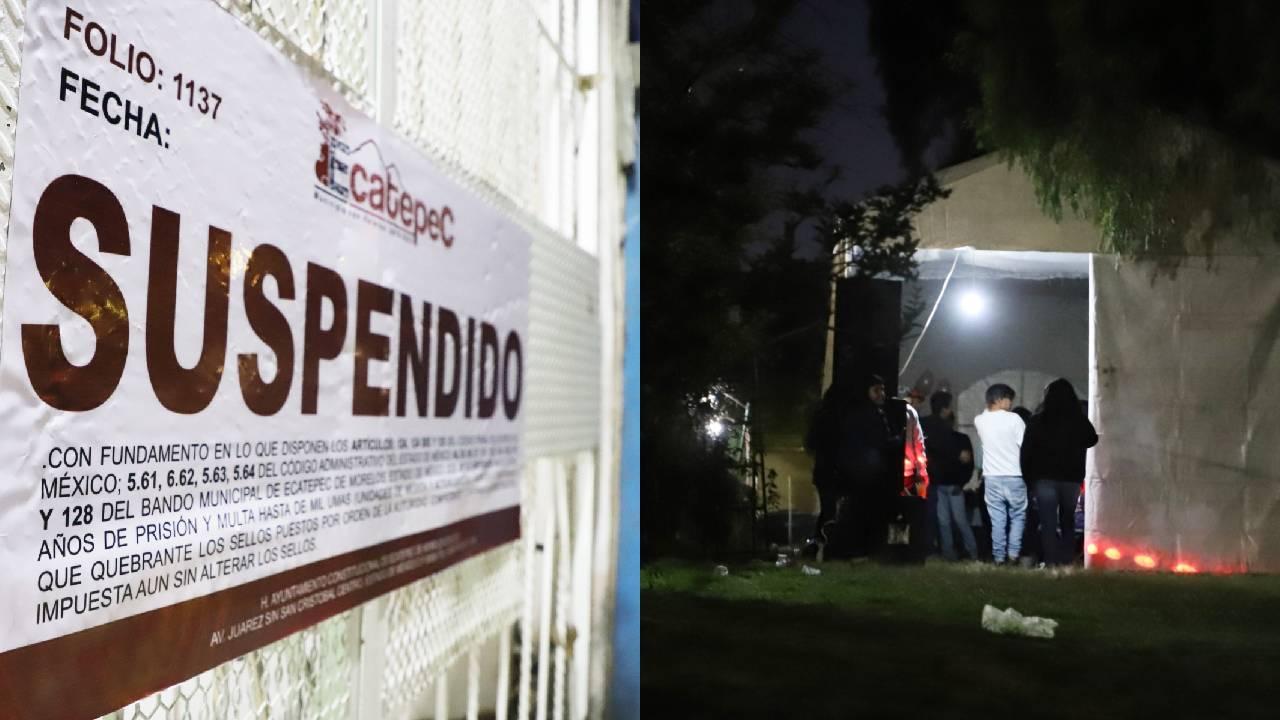 Autoridades de Ecatepec cancelan 8 fiestas y reuniones para prevenir contagios de Covid-19