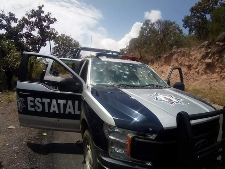 Seis policías fueron asesinados en Durango tras una emboscada
