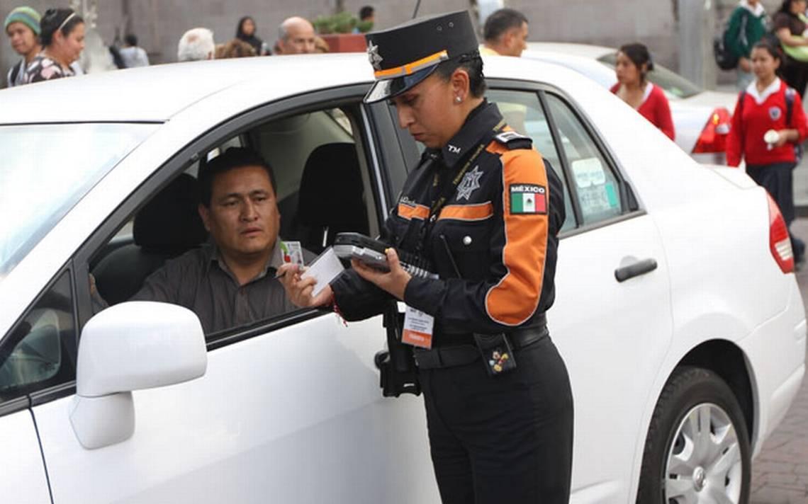 A partir de hoy aplican las multas de tránsito en Naucalpan