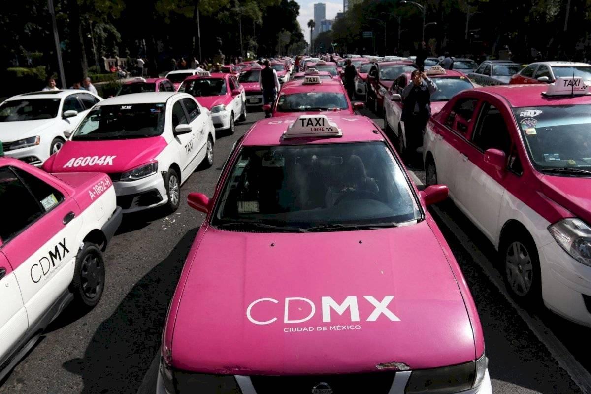 Advierten Taxistas que colapsarán CDMX este lunes con manifestación