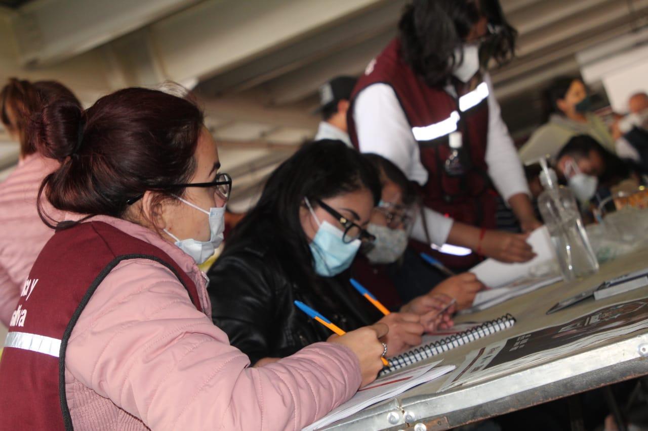 La consulta pública  para aplicación del presupuesto 2021 en Ecatepec registra gran afluencia ciudadana
