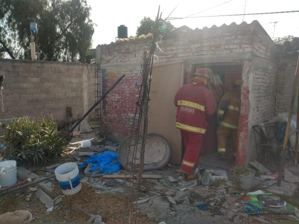 Fuerte explosión en Tultepec deja 5 personas lesionadas