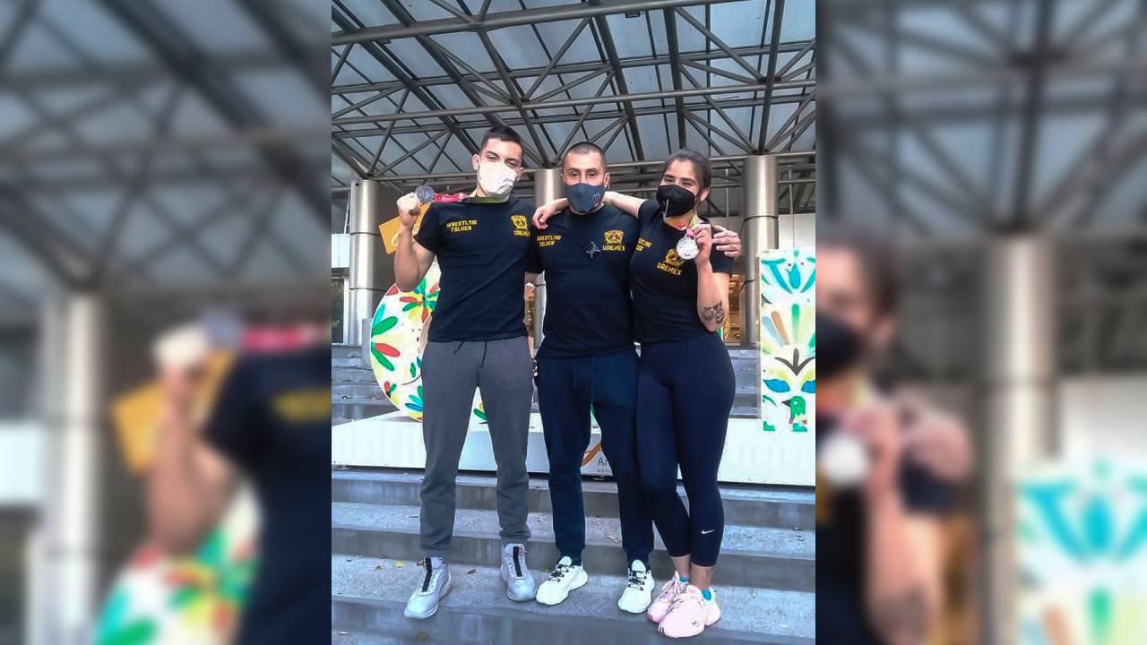 Deportistas UAEM a la Selección Nacional de Lucha