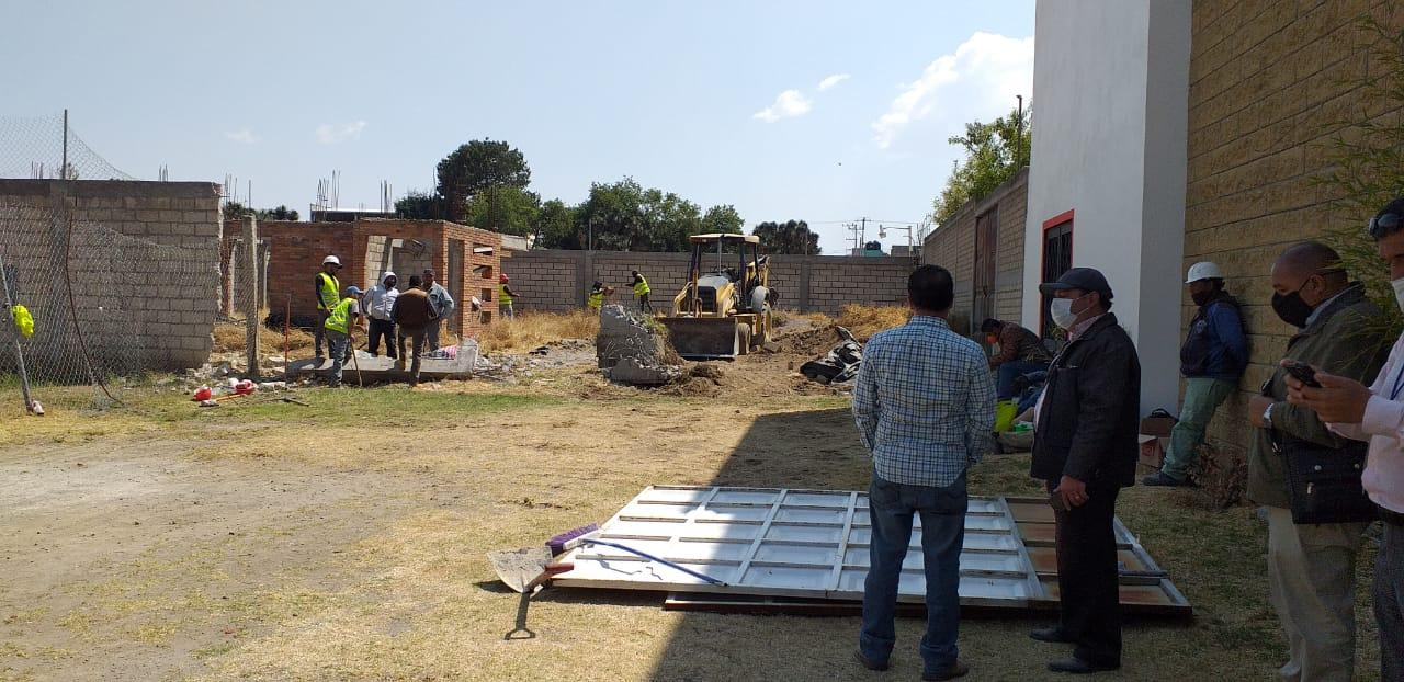 Recupera Toluca una calle en beneficio de vecinos de Capultitlán