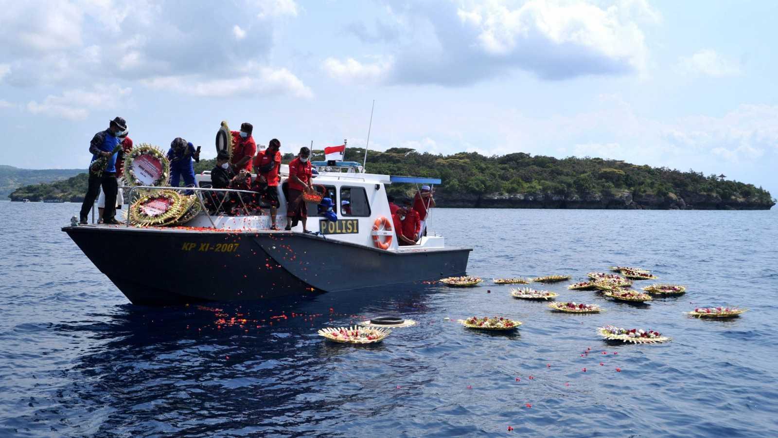 """Publica la Marina de Indonesia video de la tripulación cantando """"Sampai Jumpa"""" que significa """"Adiós"""""""