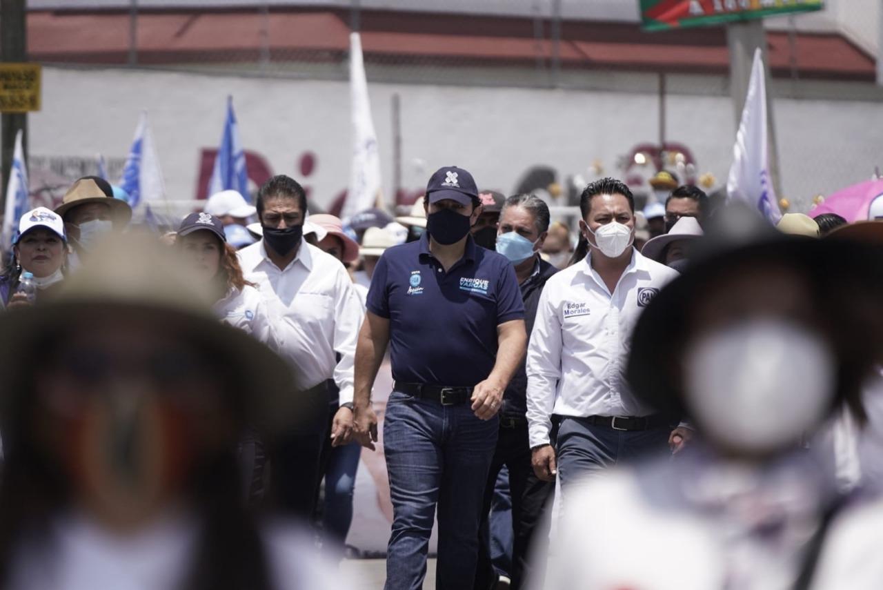 Candidato de la alianza juntos haremos historia al gobierno de Huixquilucan muestra su total ignorancia: Enrique Vargas del Villar