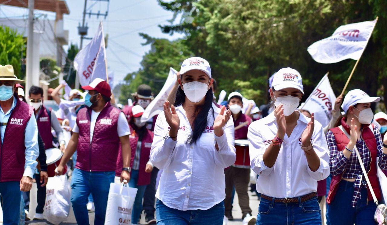 Más de 5 mil priístas renuncian y se incorporan al proyecto de cambio verdadero de Gaby Gamboa