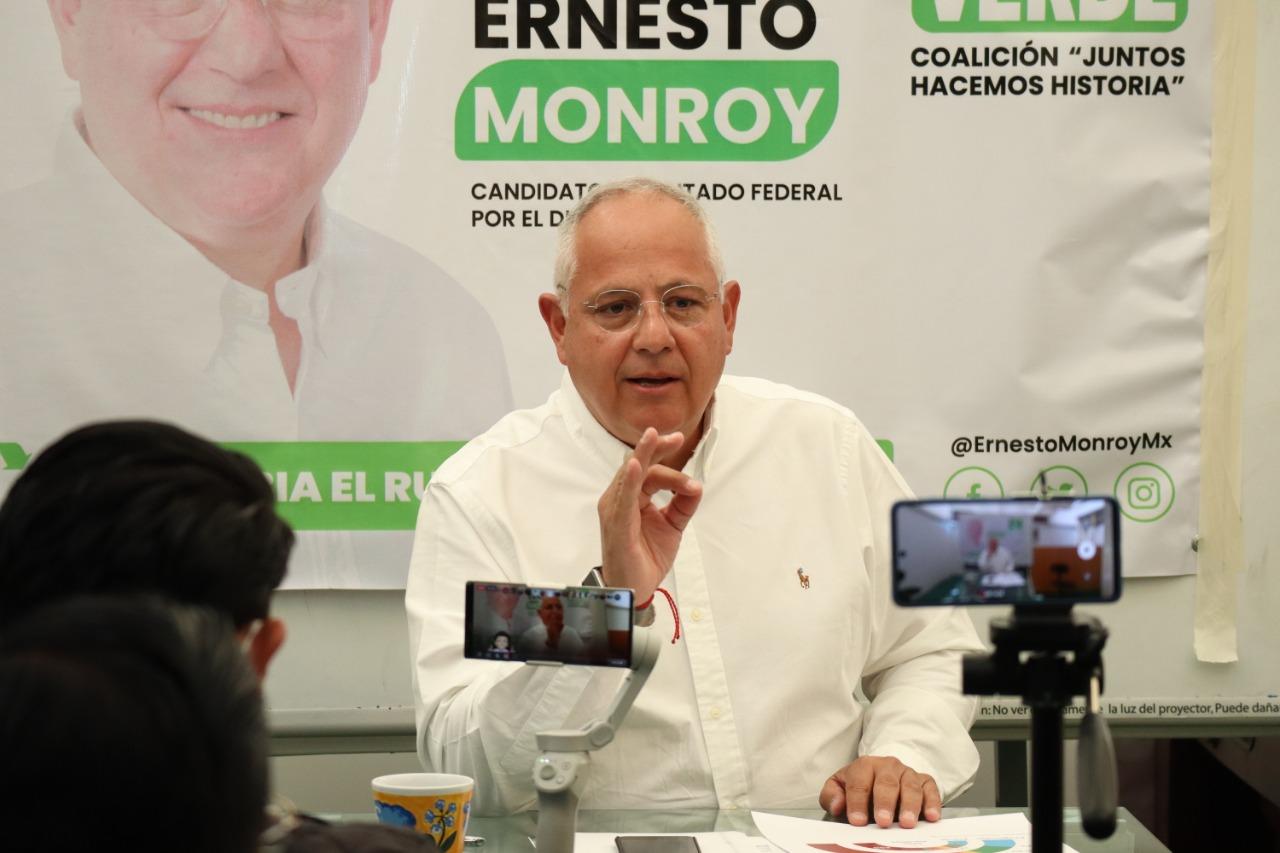Ernesto Monroy hace un llamado a mantener elecciones limpias