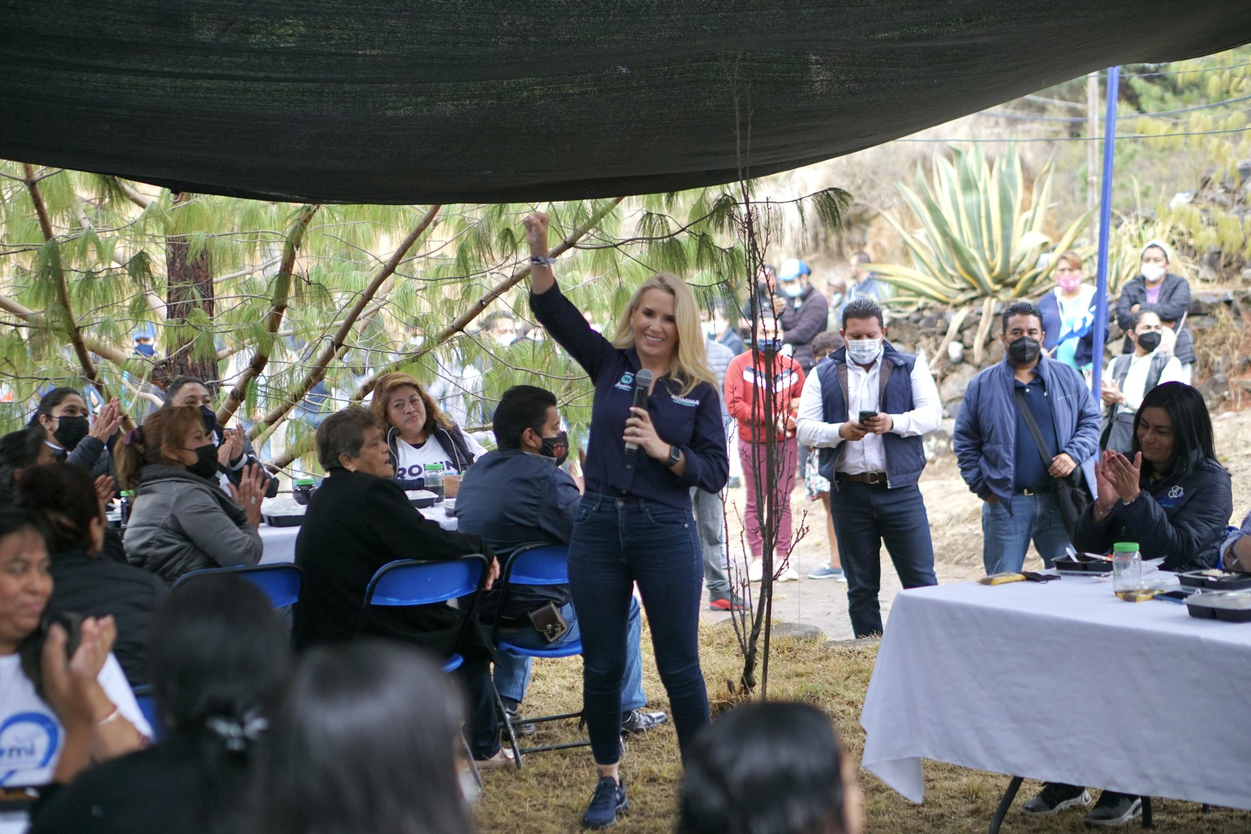 Seguridad y salud seguirán siendo prioridades en Huixquilucan: Romina Contreras