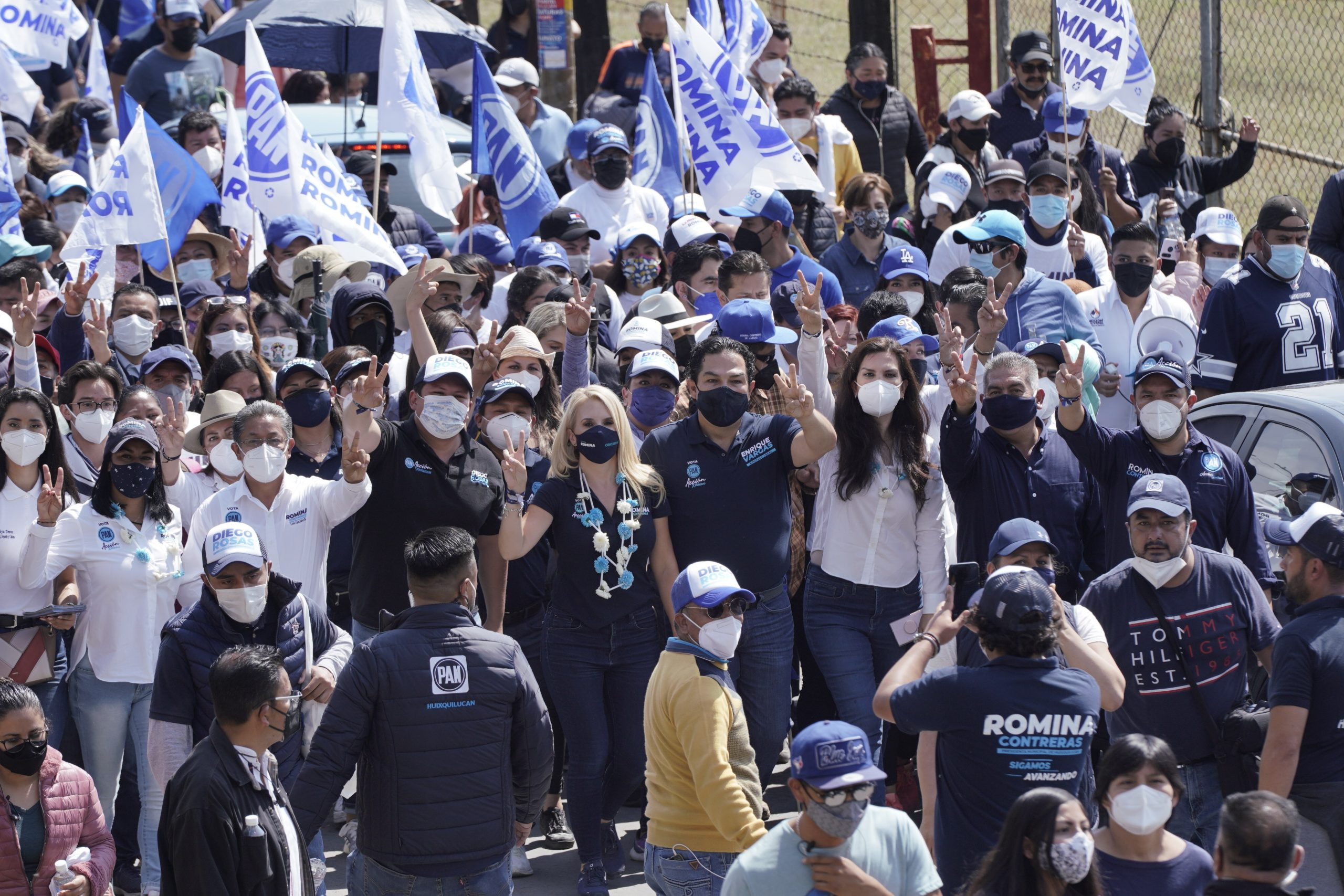 Huixquilucan seguirá avanzando con un gobierno siempre disponible para la ciudadanía: Romina Contreras