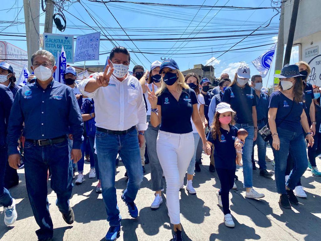 No defraudaré la confianza de la gente que apuesta por la continuidad en Huixquilucan: Romina Contreras