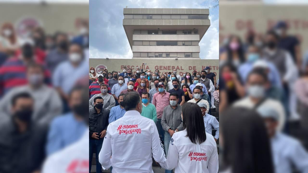 Presenta Fernando Flores denuncia de hechos por amenaza