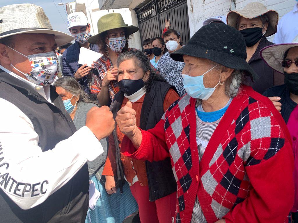 Manuel Vilchis, Candidato de PRI-PAN-PRD avanza con fuerza  y suma adeptos al recorrer Zinacantepec