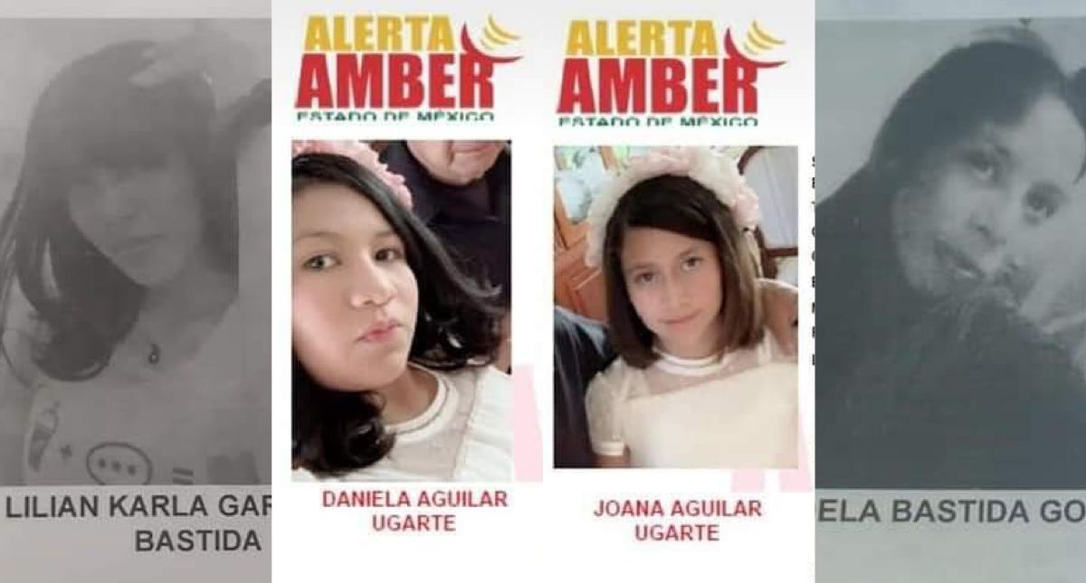 Desaparecen 2 niñas y sus niñeras en Toluca